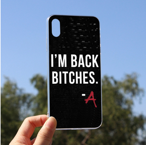 Black Pretty Little Liars Cellphones Cover Coque For iPhone 6plus 6s 6 5 5s SE 7 8 X XS max XR 8plus 7plus 101